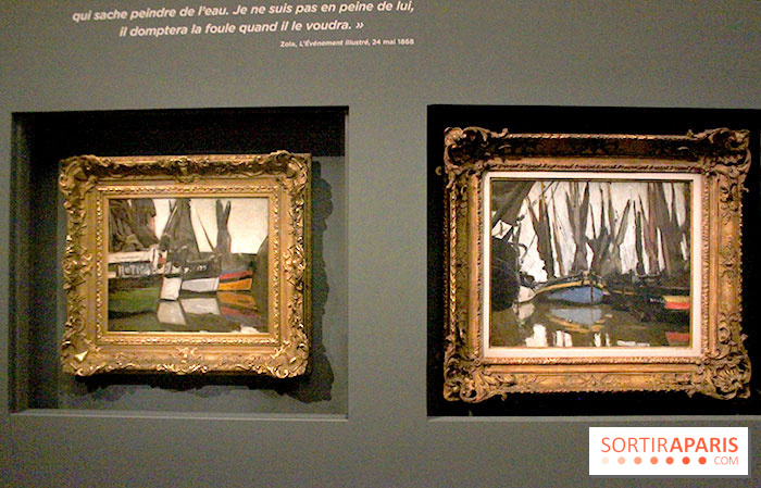 photo 11 les impressionnistes en normandie l 39 expo au mus e jacquemart andr. Black Bedroom Furniture Sets. Home Design Ideas