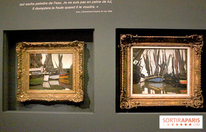 photo 11 les impressionnistes en normandie l 39 expo au. Black Bedroom Furniture Sets. Home Design Ideas