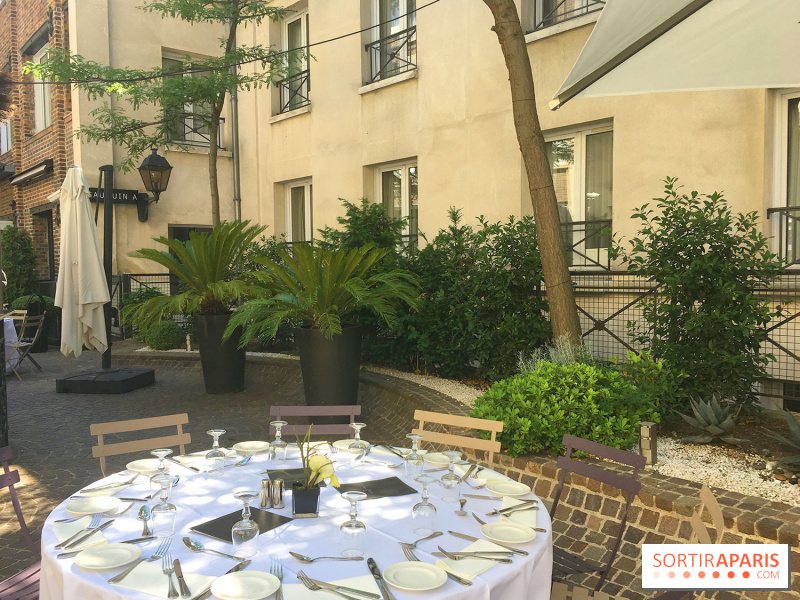 Album photos le restaurant terrasse des jardins du marais - Jardins du marais restaurant ...