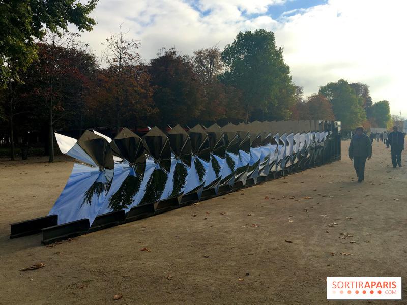 Photo fiac 2017 au jardin des tuileries pugnaire et for Fiac 2015 jardin des tuileries
