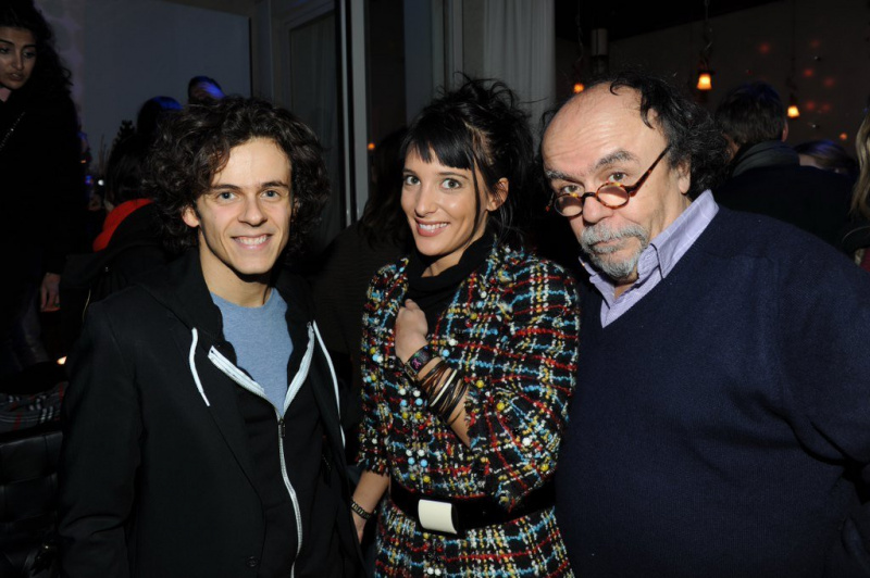 Photo michael gr gorio erika moulet jean michel ribes people after show michael gregorio - Michael gregorio en couple ...