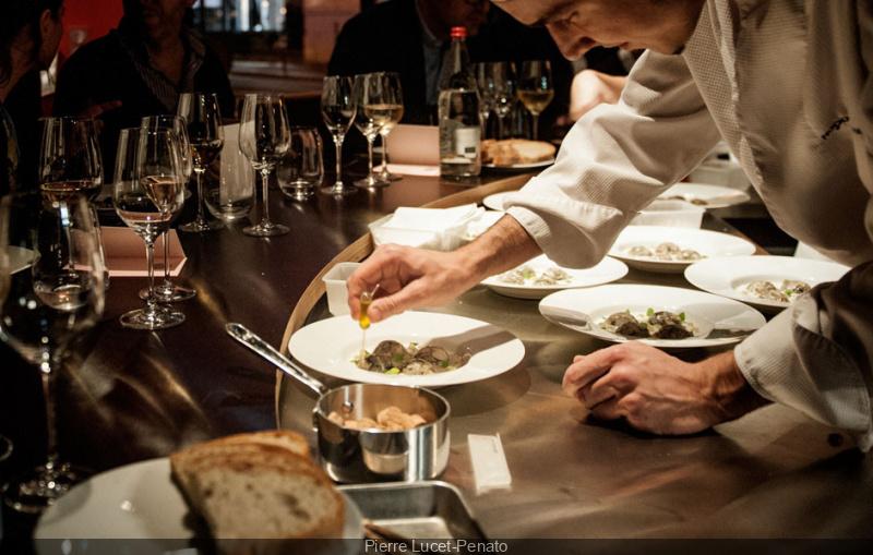 Photo 3 la table ronde restaurant paris - Restaurant la table ronde marseille ...