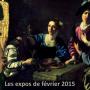 expositions de Février 2015 à Paris