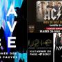 Les concerts de 2015 à Paris